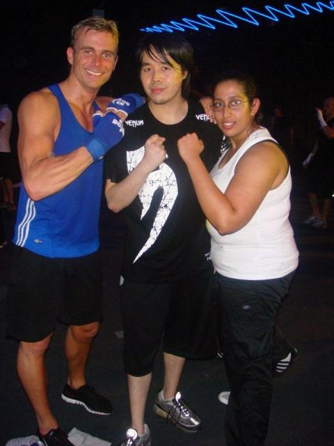 Me, PJ and Raina