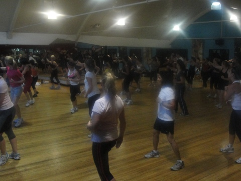 The crew at Fitness First St Leonards - get along to this class if you can!