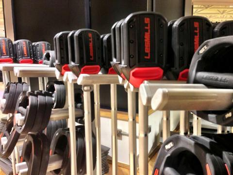 Aviation Club - did I mention the only gym in Dubai with Les Mills Smart Bars?