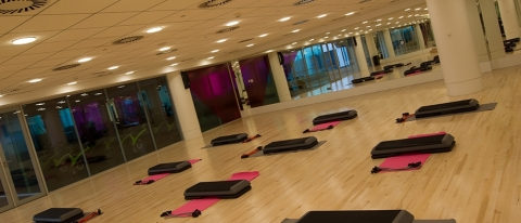 Engine group fitness studio