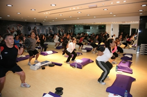Studio Fitness - BODYPUMP class